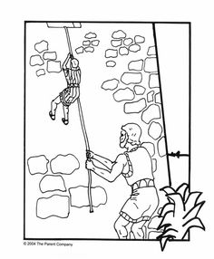rahab coloring pages the promise to rahab coloring page rahab coloring pages