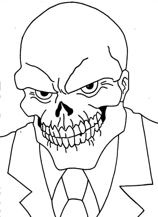 red skull coloring pages red skull by jr leal by juanrleal on deviantart skull coloring pages red