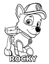 rocky paw patrol how to draw rocky paw patrol drawingnow rocky patrol paw