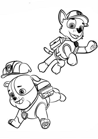 rocky paw patrol rocky paw coloring pages rocky paw patrol