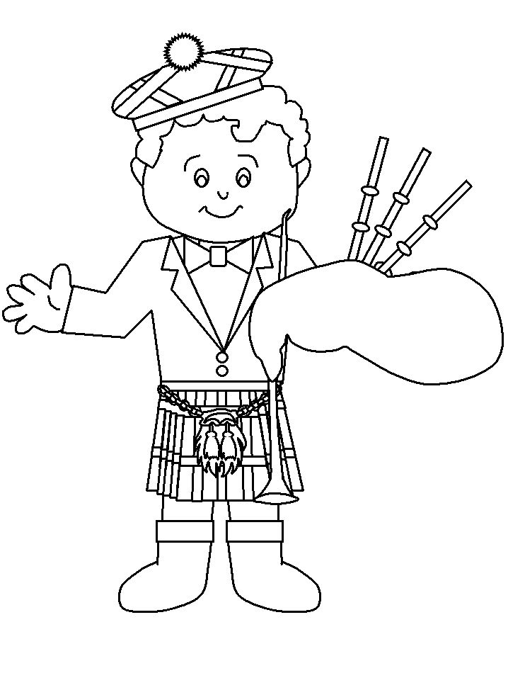 scotland colouring pages 15 best st andrew39s day images in 2014 scotland burns scotland pages colouring