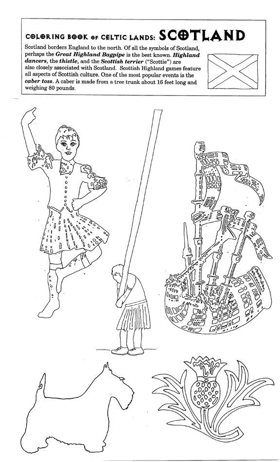 scotland colouring pages the thistle of scotland coloring page free printable pages scotland colouring
