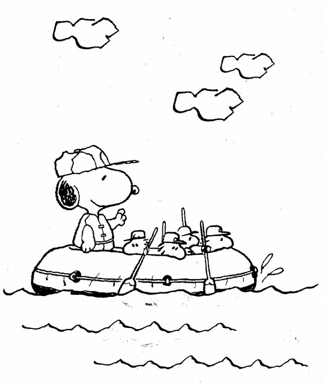 snoopy coloring pages free printable snoopy coloring pages for kids pages snoopy coloring