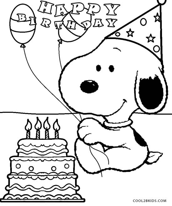 snoopy coloring pages printable snoopy coloring pages for kids cool2bkids pages snoopy coloring 1 2