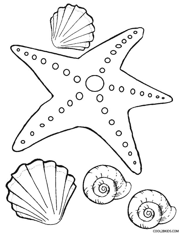 starfish coloring sheet mesmerizing beauty 39 fish coloring pages and crafts starfish coloring sheet