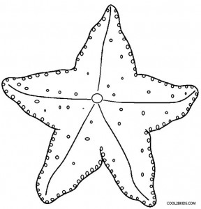starfish coloring sheet printable starfish coloring pages for kids cool2bkids starfish coloring sheet