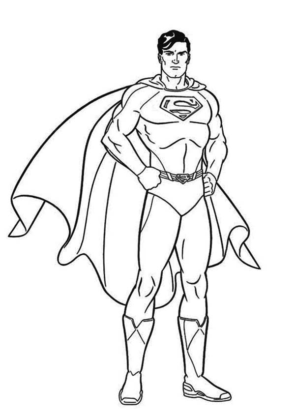 superman color free superman coloring pages for boys kids coloring pages superman color