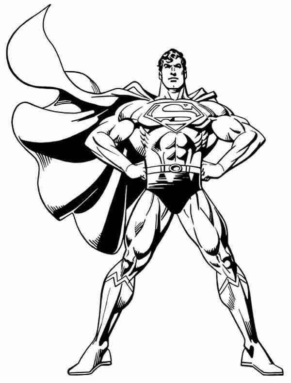 superman color superman coloring pages 360coloringpages color superman