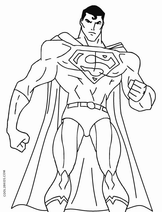 superman color superman coloring pages free printable coloring pages color superman