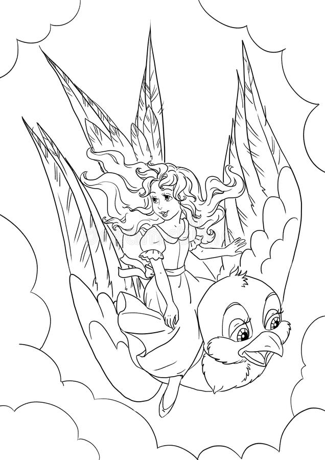 thumbelina coloring pages thumbelina by artemisia612 on deviantart coloring pages thumbelina