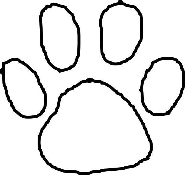 tiger paw coloring page clemson tiger paw free coloring pages page paw coloring tiger