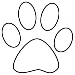 tiger paw coloring page clemson tiger paw print coloring page sketch coloring page coloring page paw tiger