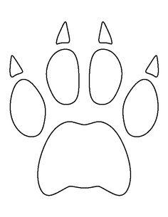 tiger paw coloring page clemson tiger paw print coloring page sketch coloring page page coloring paw tiger