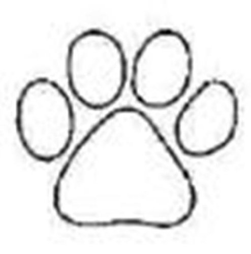 tiger paw coloring page clemson tiger paw print coloring page sketch coloring page paw page tiger coloring