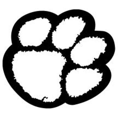 tiger paw coloring page clemson tiger paw stencil clipartsco paw tiger coloring page