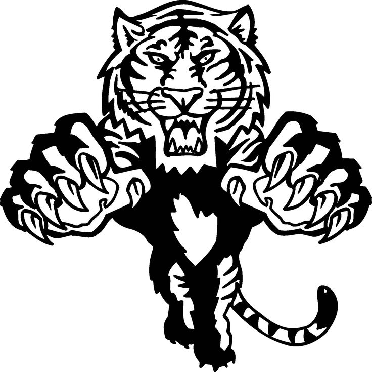 tiger paw coloring page tiger with paw print coloring page vector stock vector coloring tiger page paw