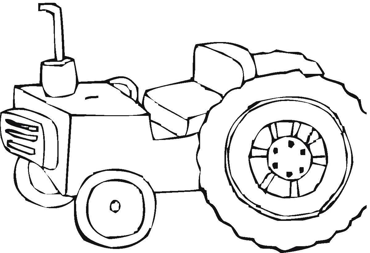 tractor colouring pictures 25 best tractor coloring pages to print tractor colouring pictures