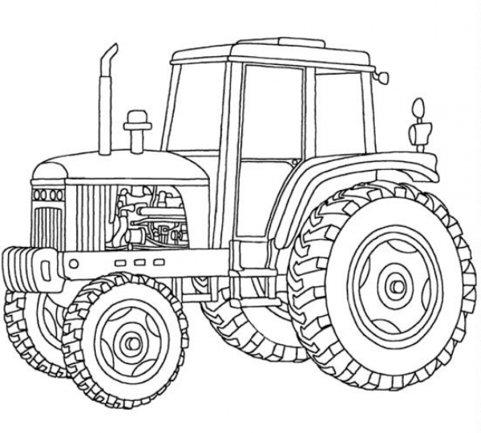 tractor colouring pictures get this tractor coloring pages free printable 76955 colouring pictures tractor