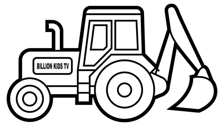 tractor colouring pictures important digger colouring pages how to draw excavator pictures tractor colouring