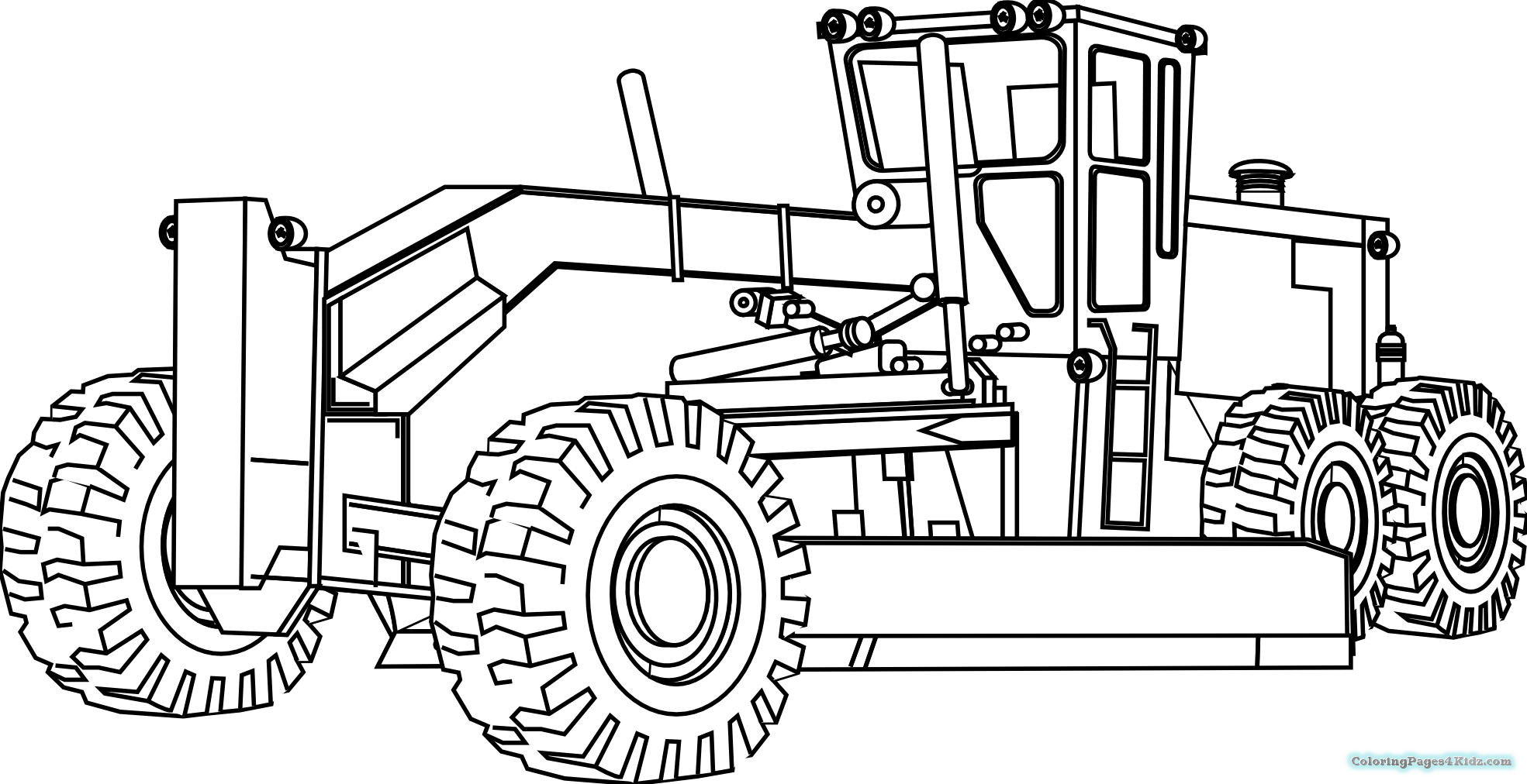 tractor colouring pictures kids tractor a coloring pages coloring pages for kids colouring tractor pictures