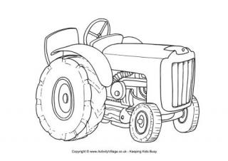 tractor colouring pictures transport colouring pages tractor pictures colouring