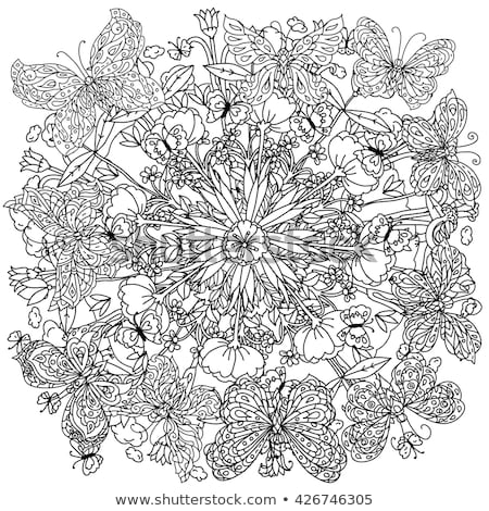uncoloured pictures of flowers uncolored stock photos images pictures shutterstock uncoloured of pictures flowers