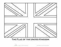 union jack flag to colour 7 best crown coloring pages images on pinterest coloring jack to colour union flag