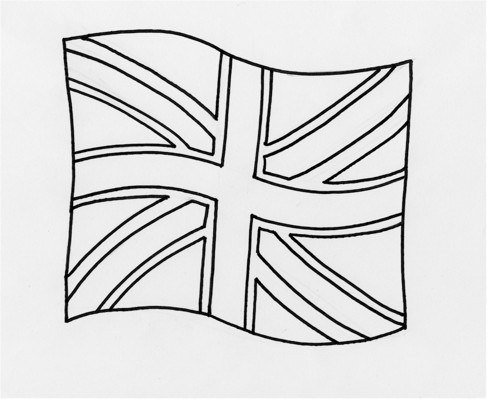 union jack flag to colour colouring for kids things to do about the uk union flag jack to colour