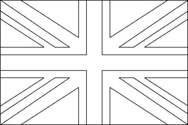 union jack flag to colour drapeau united kingdom à colorier fn75 jornalagora union flag colour to jack