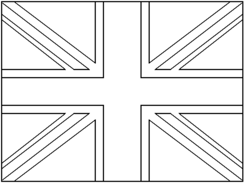 union jack flag to colour pin union jack colouring in on pinterest union to flag colour jack
