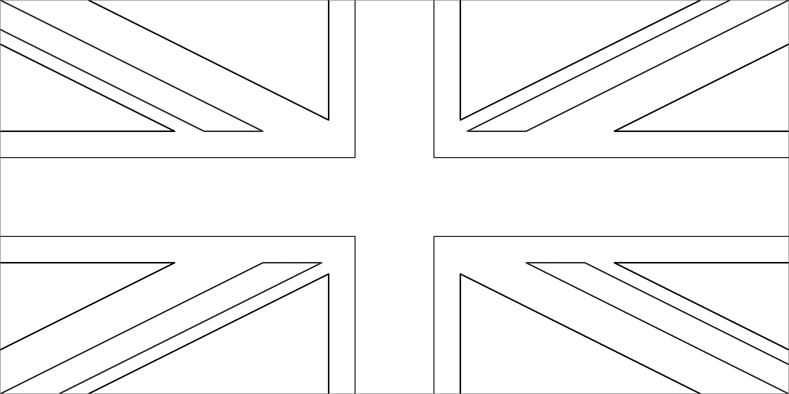 union jack flag to colour union jack coloring colour flag jack to union
