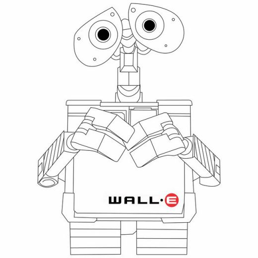 wall e colouring pages kids n funcom 59 coloring pages of wall e colouring pages wall e 1 1