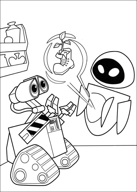 wall e colouring pages wall e coloring pages 1 robot party disney coloring colouring pages e wall
