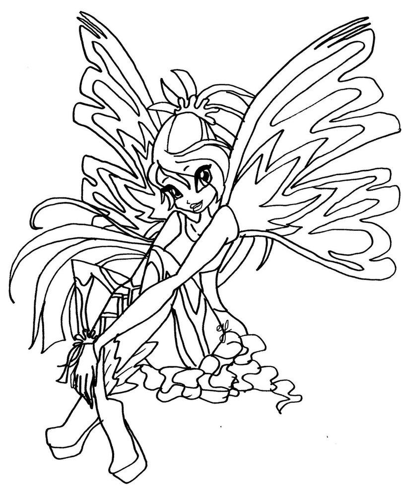 winx club bloom enchantix coloring pages dark bloom winx club coloring pages pages coloring winx enchantix bloom club