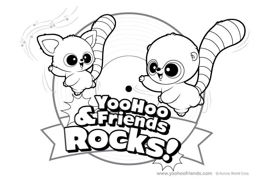 yoohoo and friends colouring pages yoohoo and friends pages coloring pages yoohoo friends and colouring pages