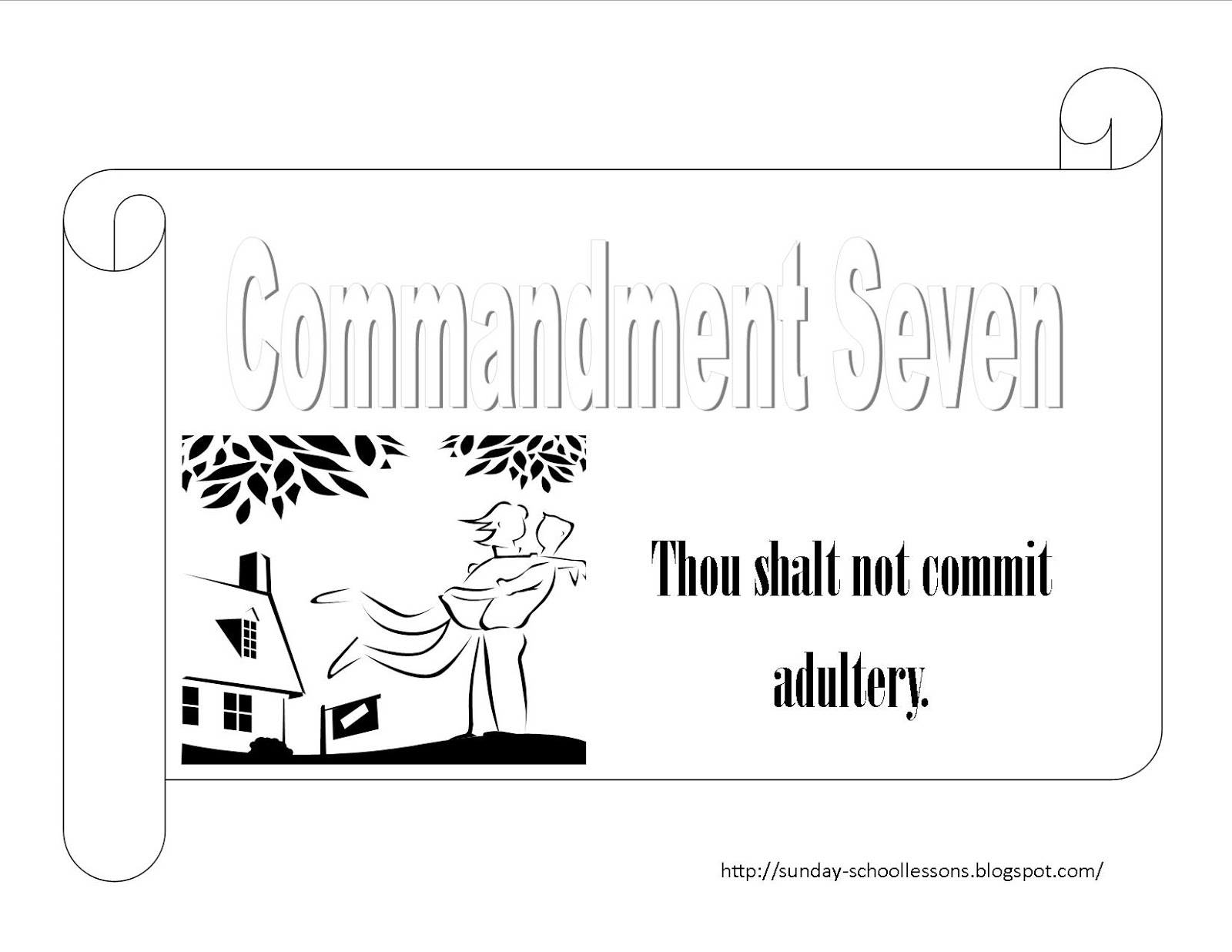 10 commandments coloring page 10 commandments coloring page numbers seven and eight page 10 coloring commandments
