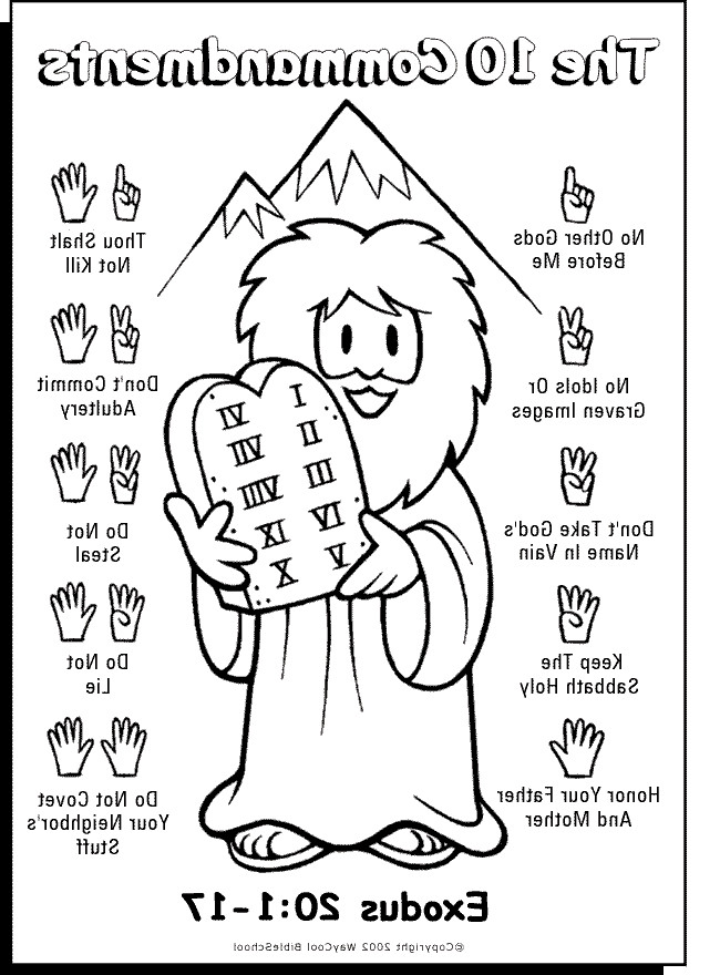 10 commandments coloring page free printable ten commandments coloring pages at commandments page coloring 10
