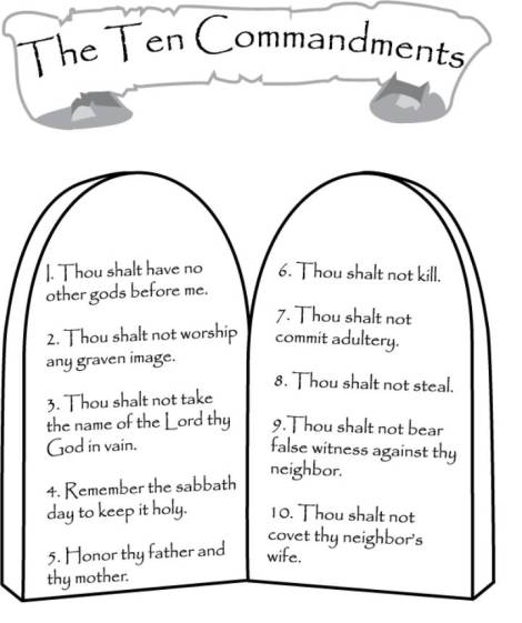 10 commandments coloring page patterns and color sheets oak grove missionary baptist 10 commandments coloring page
