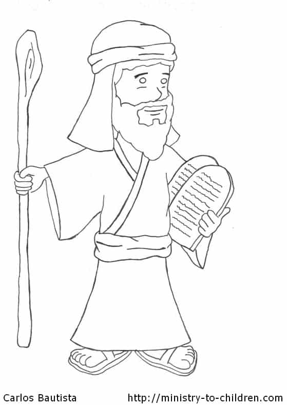 10 commandments coloring page quotmoses and the 10 commandmentsquot coloring page page 10 coloring commandments