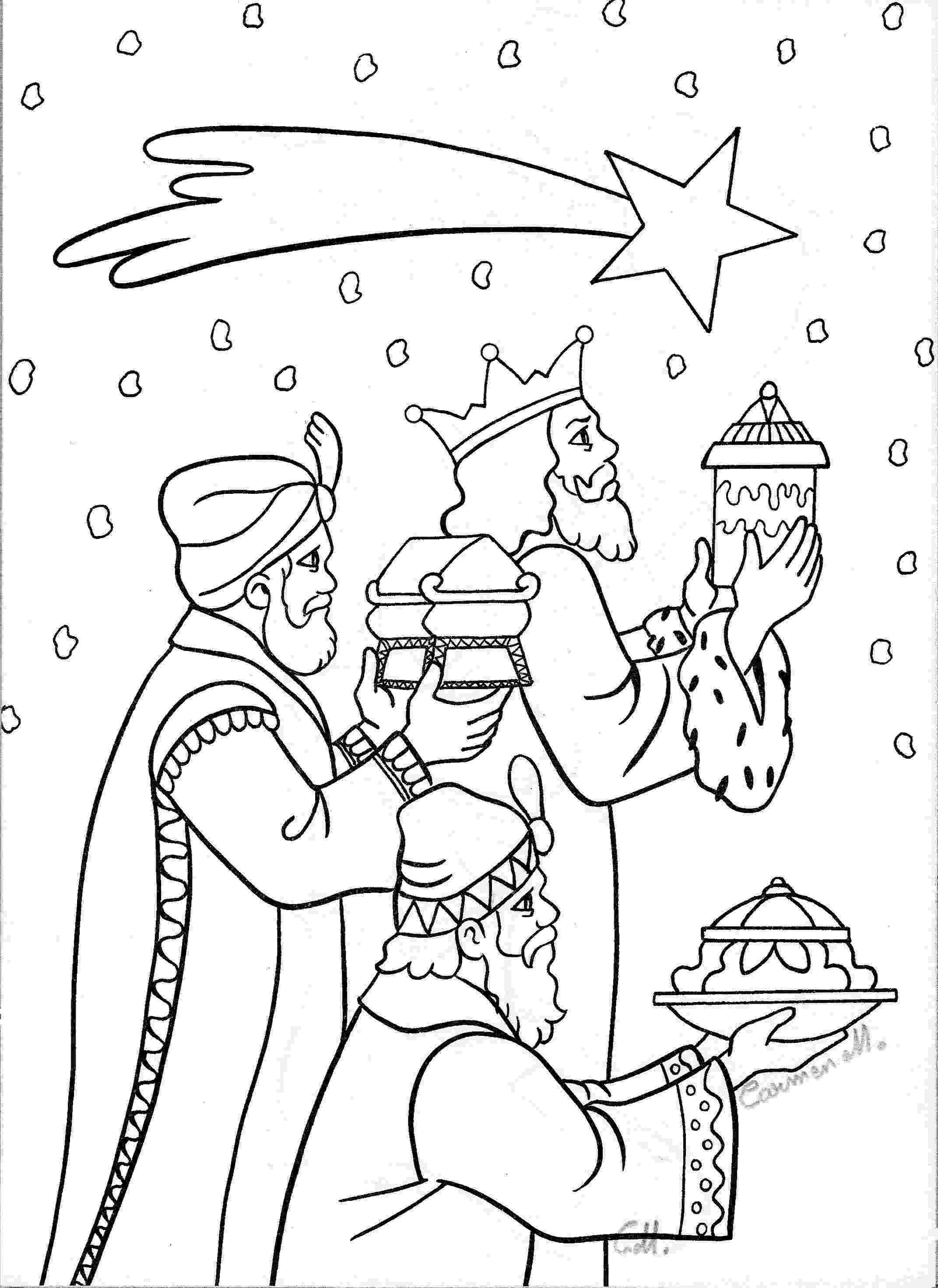 3 wise men coloring the three wise men charukriti coloring 3 men wise