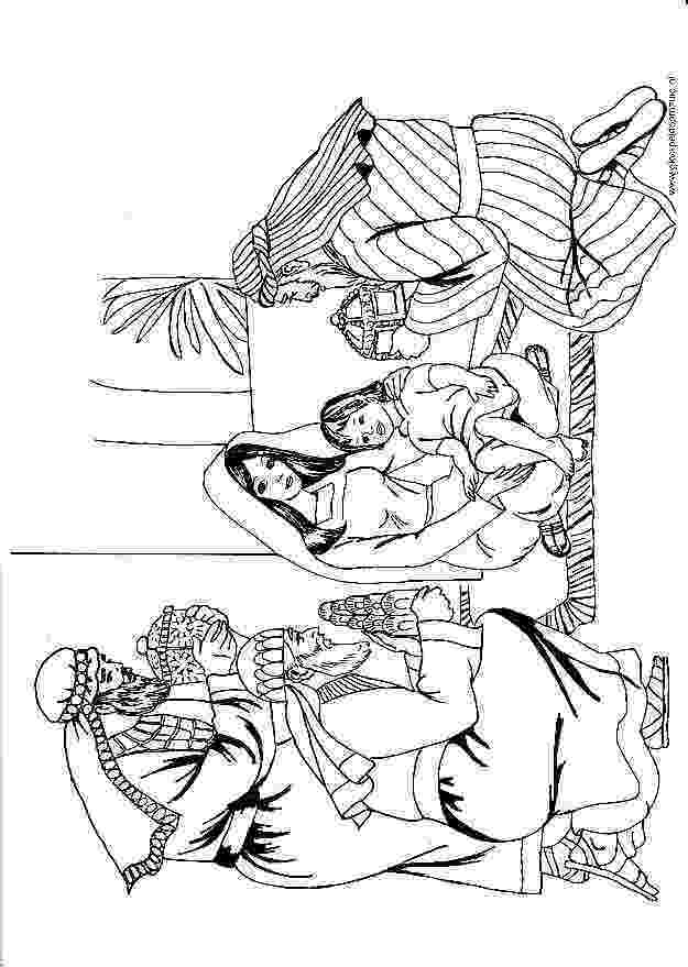 3 wise men coloring three kings day coloring pages los tres reyes magos men wise 3 coloring