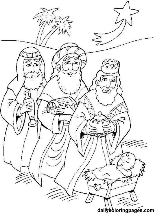 3 wise men coloring three wisemen following star nativity coloring pages wise men 3 coloring
