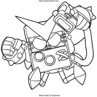 8 bit coloring pages coloring page brawl stars 8 bit 44 bit 8 coloring pages