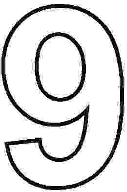 9 colouring pages number 9 coloring pages for kids counting sheets pages colouring 9