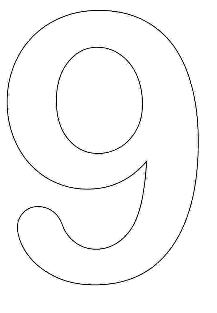 9 colouring pages numbers to color coloring pages colouring pages 9