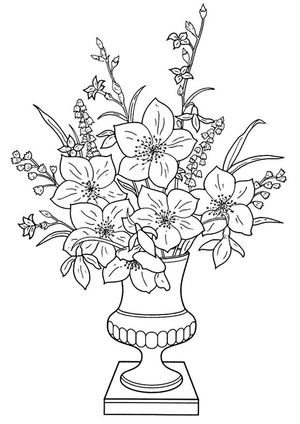 a flower coloring page drwaing flowers shoaib bilal flowers a flower page coloring