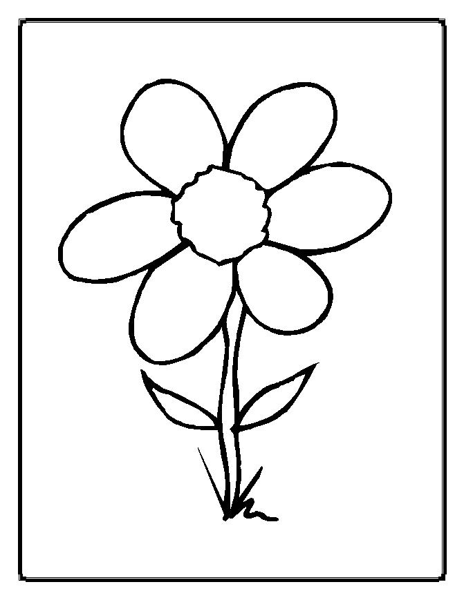 a flower coloring page flowers coloring pages coloringpages1001com page coloring a flower