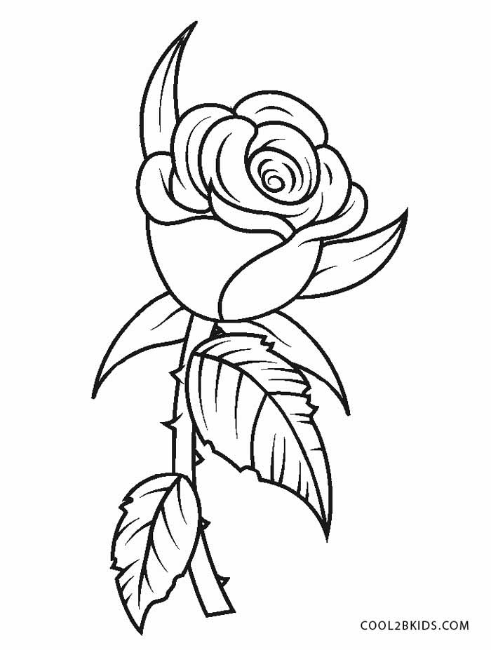 a flower coloring page simple flower coloring pages getcoloringpagescom flower coloring a page