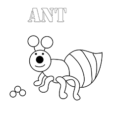 a for ant coloring pages ant coloring page twisty noodle coloring a for ant pages