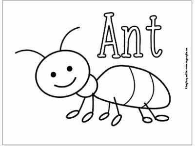 a for ant coloring pages ant coloring pages coloring pages for ant a